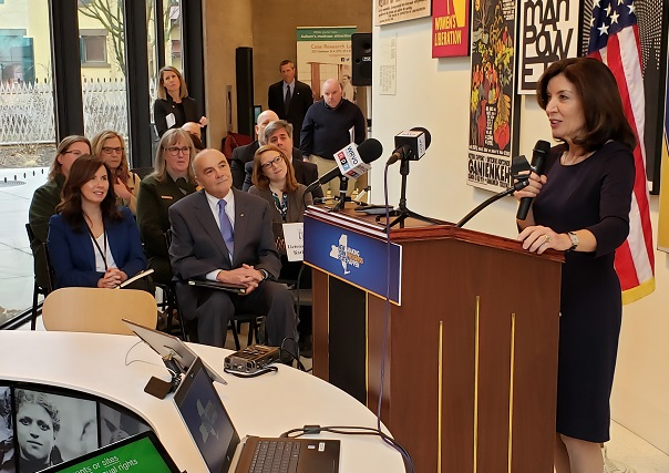 Lt. Governor Hochul speaks in Auburn, gives 2020 forecast as legislative session begins