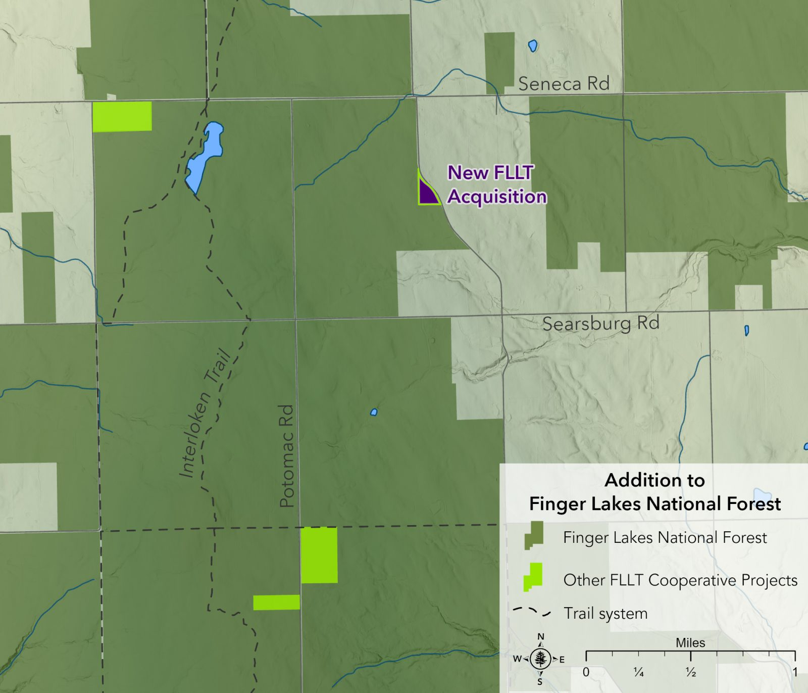 Finger Lakes Land Trust acquires 5.5 acres in Hector