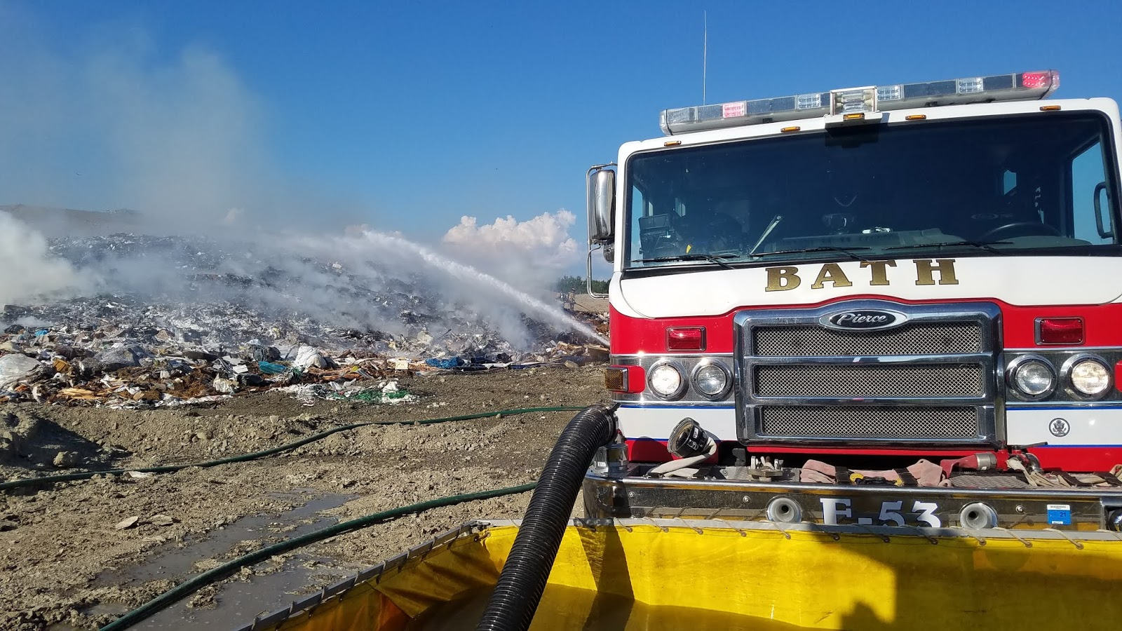 Heat likely caused fire at Steuben County Landfill
