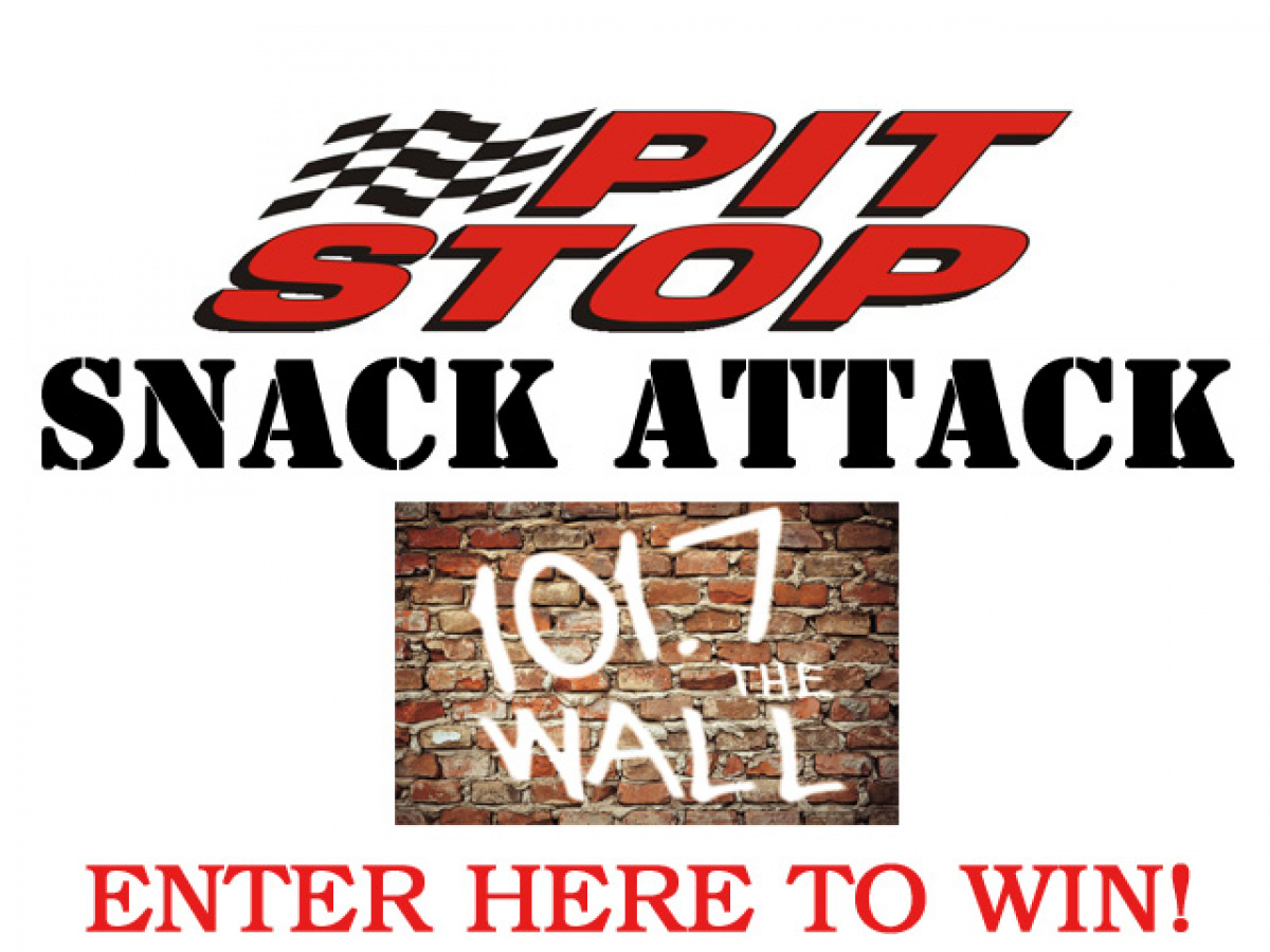 101.7 The WALL/Pit Stop Snack Attack